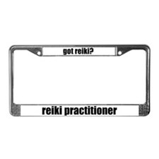got reiki? Reiki Practitioner License Plate Frame