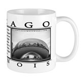 "Chicago Coffee Mug ""Cloud Gate"" - Small"