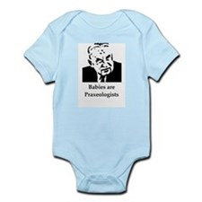"Mises ""Babies are Praxeologists"" Infant Creeper"