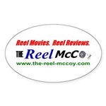 The Reel McCoy Oval Sticker