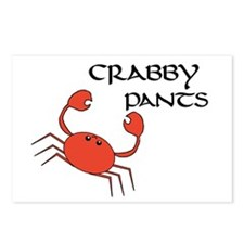 CRABBY PANTS Postcards (Package of 8)