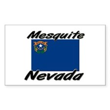 Mesquite Nevada Rectangle Decal