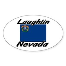 Laughlin Nevada Oval Decal