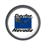 Dayton Nevada Wall Clock