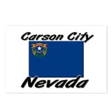 Carson City Nevada Postcards (Package of 8)