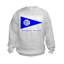 Minneapolis MN Flag Sweatshirt