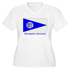 Minneapolis MN Flag T-Shirt