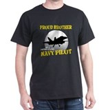 Proud Brother Navy Pilot T-Shirt