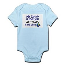 Best Actuary In The World (Daddy) Infant Bodysuit