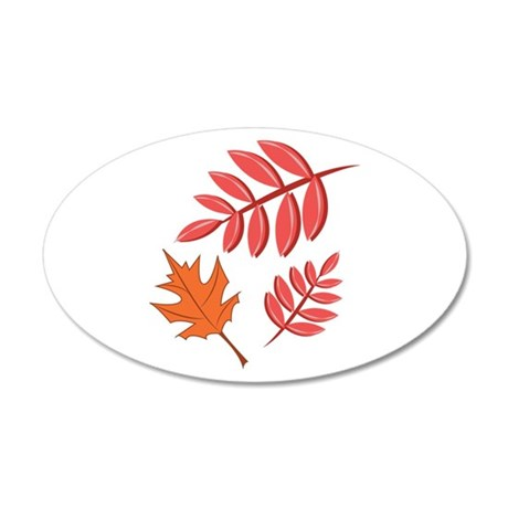 Fall Leaves Wall Decal