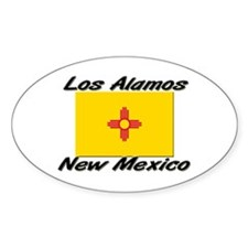Los Alamos New Mexico Oval Decal