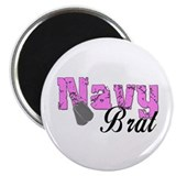 Navy Brat 2.25&quot; Magnet (100 pack)