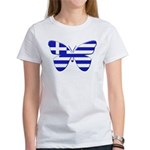 Greek Butterfly Women's T-Shirt
