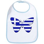 Greek Butterfly Bib