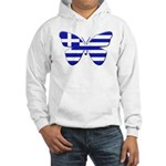 Greek Butterfly Hooded Sweatshirt
