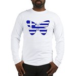 Greek Butterfly Long Sleeve T-Shirt