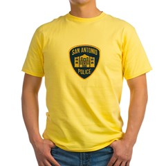 San Antonio Police Yellow T-Shirt