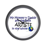 Best Artists In The World Wall Clock