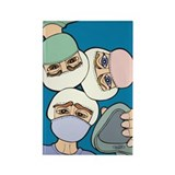 Surgery Get well gifts Rectangle Magnet (10 pack)
