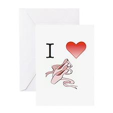 Dance Ballet Greeting Card