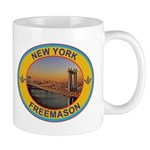 New York Freemason Mug