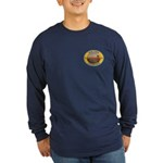 New York Freemason Long Sleeve Dark T-Shirt