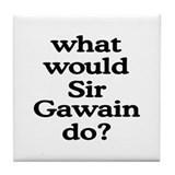 Sir Gawain Tile Coaster