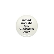 Sir Gawain Mini Button (100 pack)