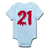 Bloody 21 Infant Bodysuit