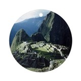 MACHU PICCHU Ornament (Round)