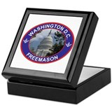 Washington D.C. Freemason Keepsake Box