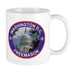 Washington D.C. Freemason Mug
