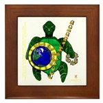 Eco-Warrior Framed Tile