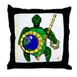 Eco-Warrior Throw Pillow