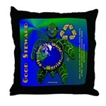 EcoWarrior Throw Pillow