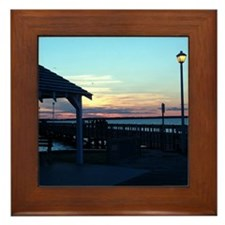 New Jersey Framed Tile - Seaside