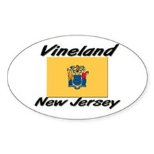 Vineland New Jersey Oval Decal