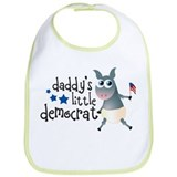 Daddy's Little Democrat Bib