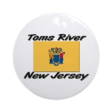 Toms River New Jersey Ornament (Round)