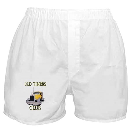 Old Timers Club Boxer Shorts