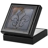 Old Metal Look Keepsake Keepsake Box