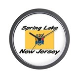 Spring Lake New Jersey Wall Clock