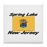 Spring Lake New Jersey Tile Coaster