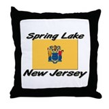 Spring Lake New Jersey Throw Pillow