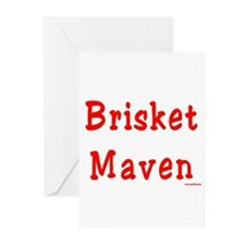 Brisket Maven Greeting Cards (Pk of 20)