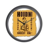 Houdini Handcuff King Wall Clock