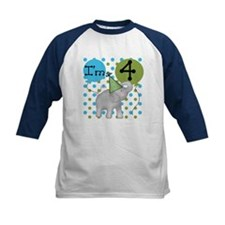 Elephant 4th Birthday Tee