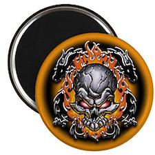 Tribal Dragons and Skull Magnet