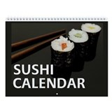 Sushi Wall Calendar - Exclusive