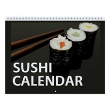 Sushi Wall Calendar - Exclusive